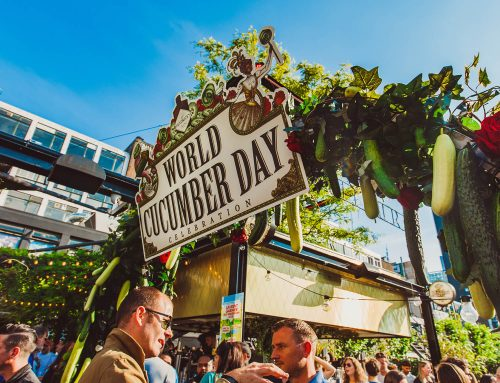 Hendrick's Gin Celebrates World Cucumber Day | Beverage concept, event design & rental