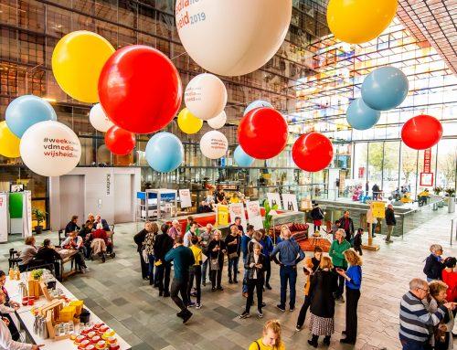 Grijs en Wijs Mediafestival | Event design & rental