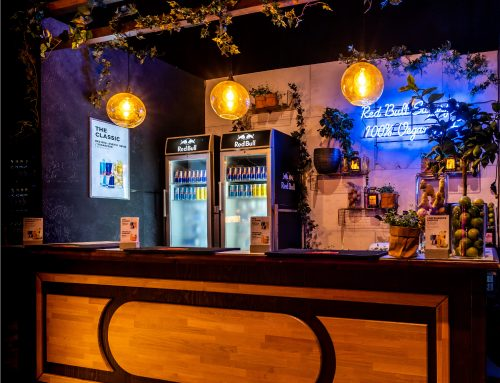Red Bull | Entree Awards | Beverage concepts, exhibition, event design & rental