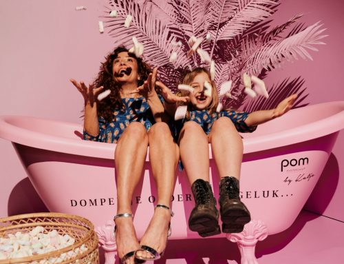 Pom Amsterdam | lancering spring/summer collectie | Custom made, event design & rental